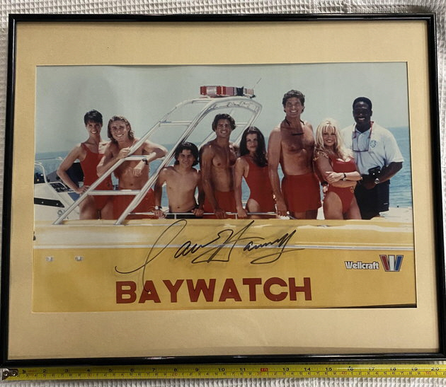 LiveAuctioneers. Baywatch Cast Photo